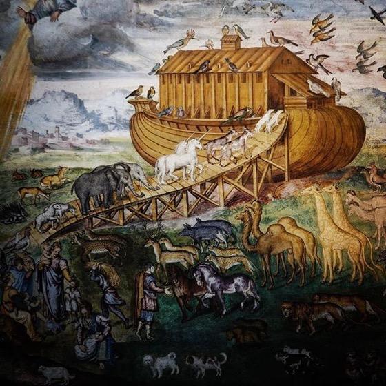 Are those#unicornsI see entering Noah's Ark!? via Instagram