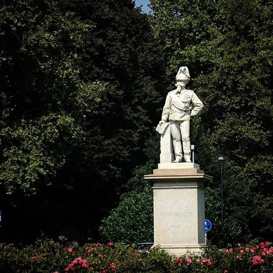 Statue of Umberto I, Monza, Italia via Instagram