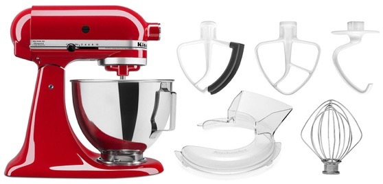 In The Kitchen: KitchenAid Mixer Deal: NEW KitchenAid 4.5-quart Tilt Head Stand Mixer w/bowl with handle $199 via eBay