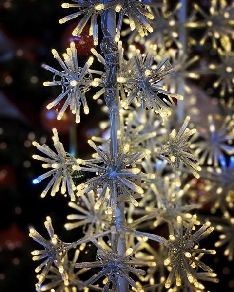 An all electric Christmas Tree 🎄via Instagram