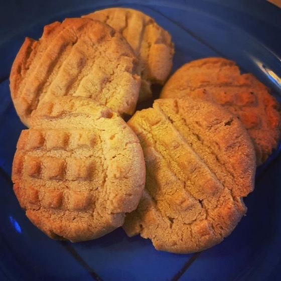 Peanut Butter Cookies for our annual party via Instagram