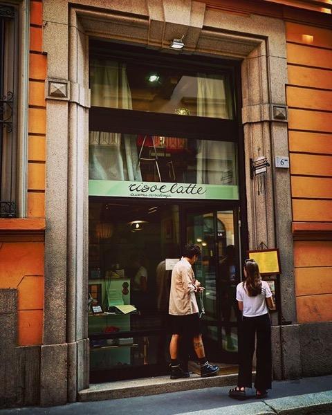Risoelatte, 60's Themed Restaurant, Milano, Italia via Instagram
