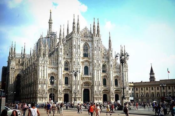 Piazza Duomo, Milano, Italy via Instagram