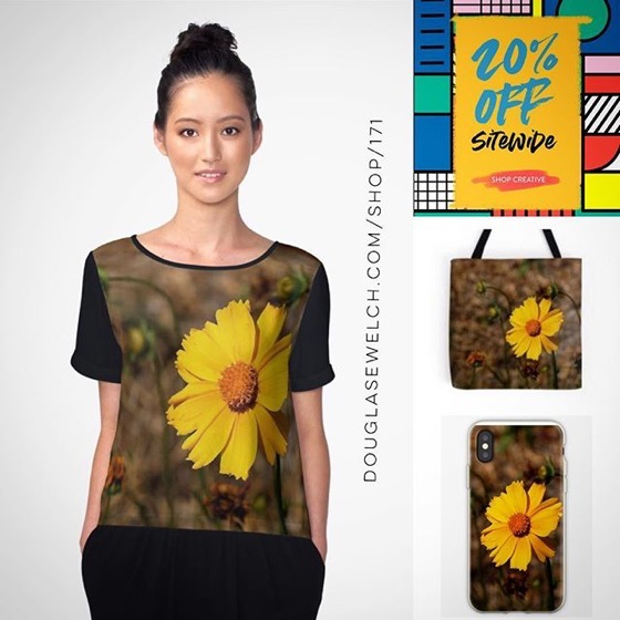 20% OFF Everything Today including these Small Sunflower Totes, iPhone Cases, and Much More!