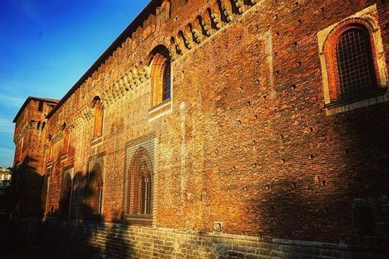Castello Sforzesco di Milano, Milano, Italia via Instagram