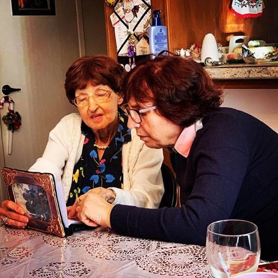 Mary and Francesca Discuss Italian Family History via Instagram