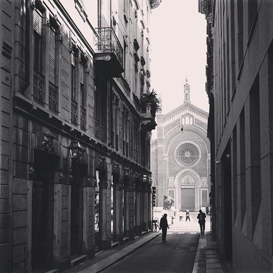 Down the street, Milano, Italia via Instagram