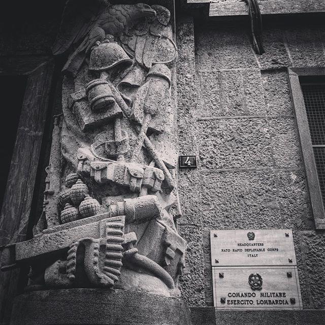 Sculpture, NATO Headquarters, Milano, Italy via Instagram