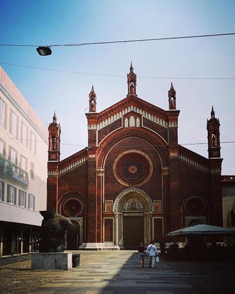 Chiesa di Santa Maria del Carmine and Piazza via Instagram