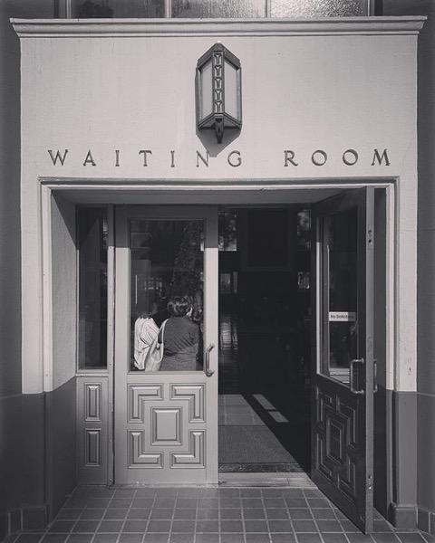 Waiting… via Instagram