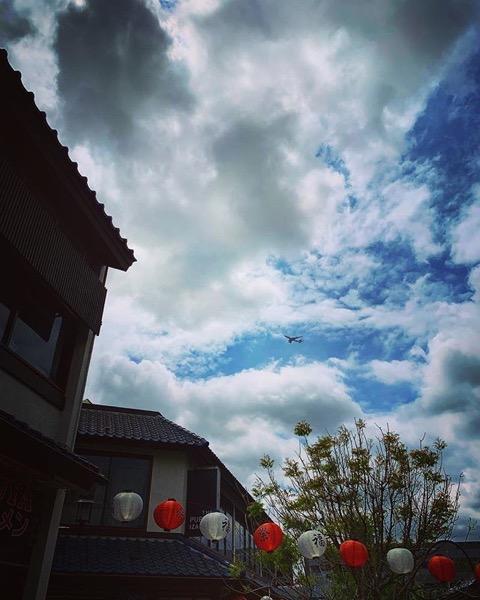 My Los Angeles 79 – Airplane Over Little Tokyo via Instagram