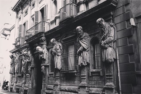 Omenoni (Big Men), Milan via My Instagram