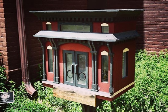 Little Free Library at Center for Colorado Women's History at Byers-Evans House, Denver, Colorado via Instagram