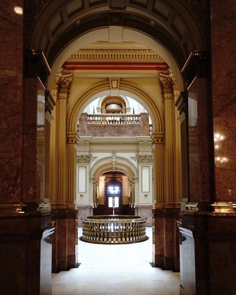 Colorado State Capitol, Denver via My Instagram