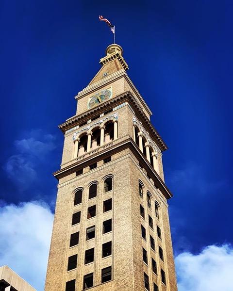 Daniels and Fisher Tower, Denver, Colorado via Instagram