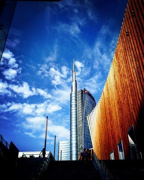 Piazza Gae Aulenti, Milano, Italy via Instagram