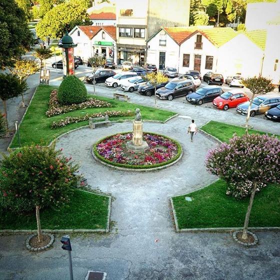 On the square in Foz, Porto, Portugal via Instagram