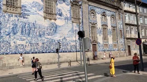 Time-lapse: Igreja do Carmo, Porto, Portugal [Video]