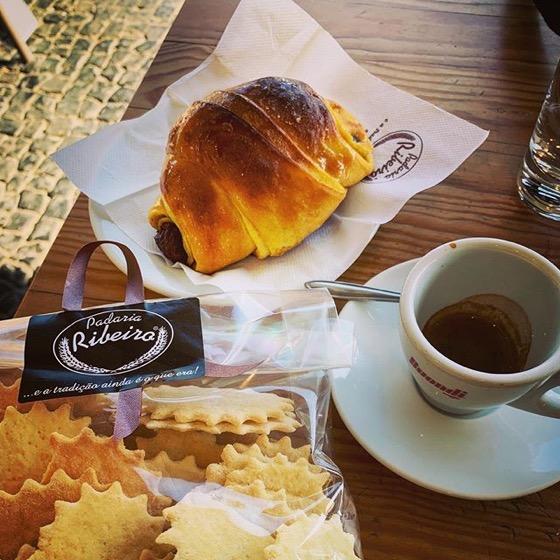 My typical European breakfast via Instagram