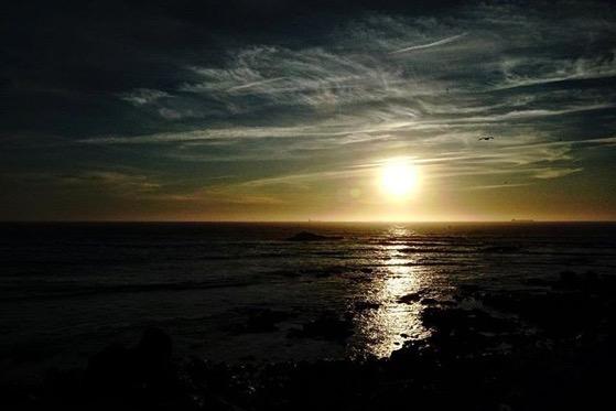 Sunset Over The Atlantic Ocean 2, Porto, Portugal via Instagram