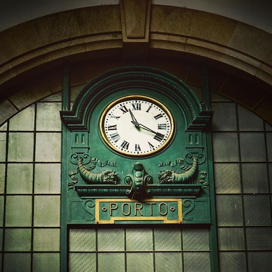 Tempus Fugit (Time Passes) via Instagram