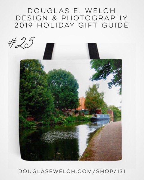 Holiday Gift Guide 2019 25: Along the canal…Nottingham Totes and More! [For Sale]