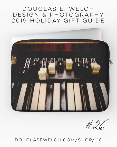 Holiday Gift Guide 2019 26 Hammond B3 Organ Laptop Sleeves and More! [For Sale]