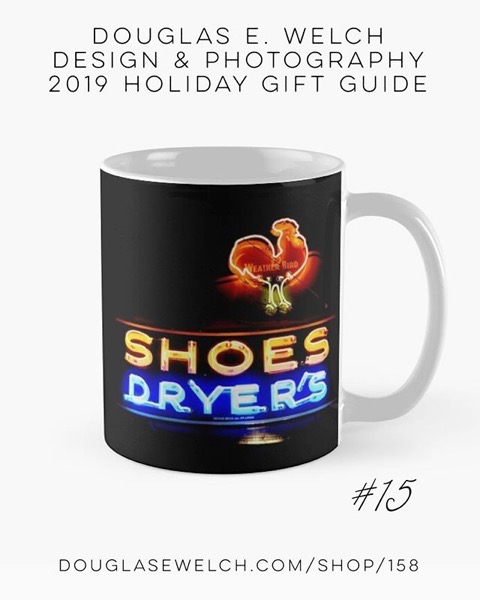 Holiday Gift Guide 2019 15: Nighttime Neon Mugs and More! [For Sale]