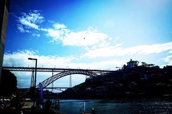 Impressive Pont Luis I Bridge, Porto, Portugal via Instagram
