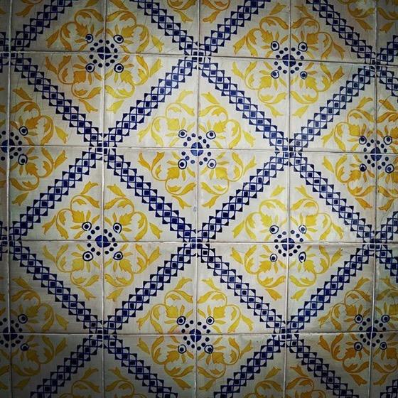 Ceramic Tile Pattern, Porto, Portugal via Instagram