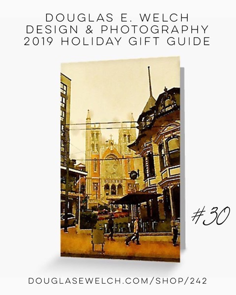 Holiday Gift Guide 2019 30: Visit The Southern Sights With These Street Scene, Wellington, New Zealand Cards/Postcards and More! [For Sale]