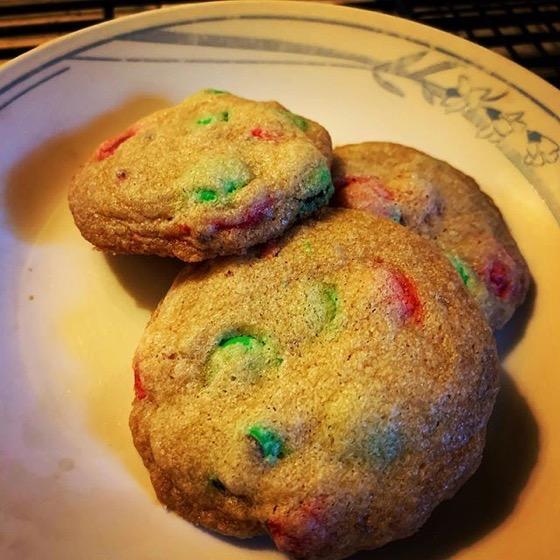 M&M Cookies via Instagram