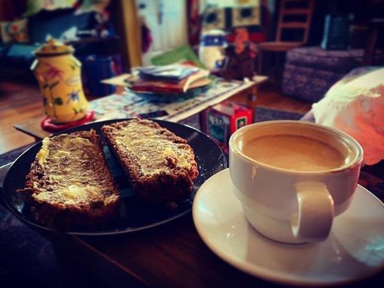 Afternoon Coffee Break via Instagram