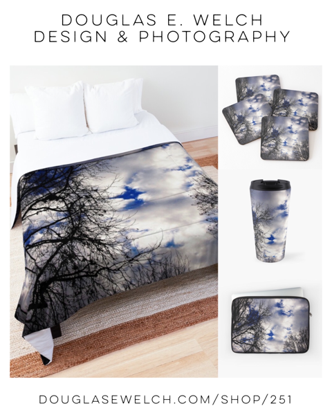 Feel The Chill With These A Winter Sky Products Exclusively From Douglas E. Welch Design and Photography [For Sale]