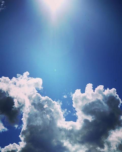 A Stunning Sky via Instagram