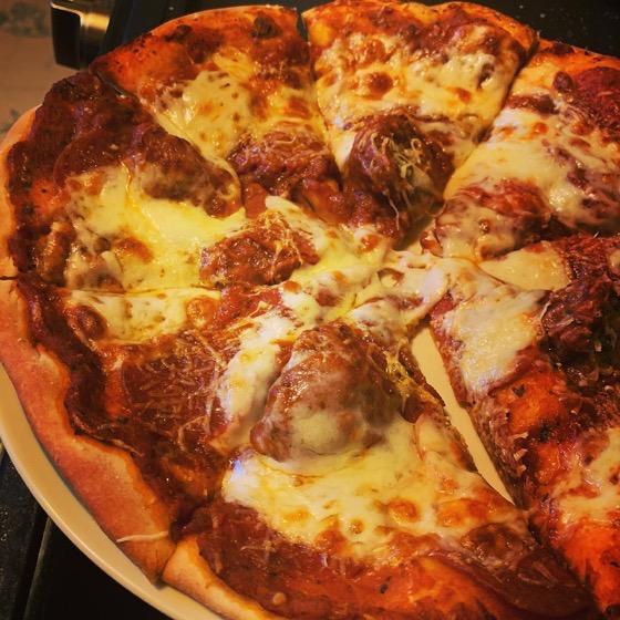 Homemade Pizza 🍕via Instagram
