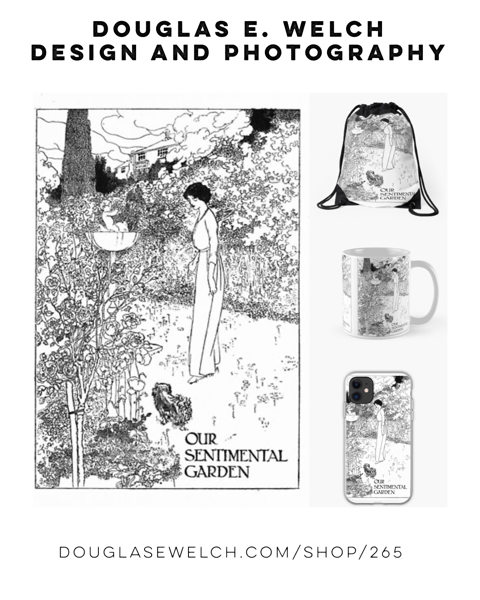 Memories of Gardens Past Totes and More From Douglas E. Welch Design and Photography [For Sale]
