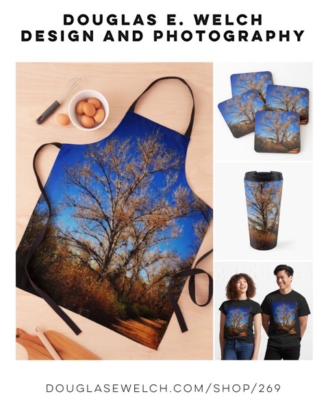 Take A Walk Along The Path With These Tees,  Aprons, Mugs, and more! [For Sale]