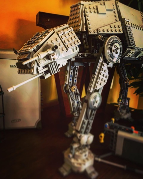 AT-AT in Lego via Instagram