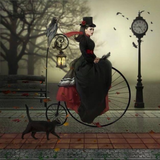 Halloween 2020 – 19 in a series – Penny Farthing