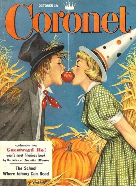 Halloween 2020 – 13 in a series -Coronet Magazine Halloween Cover Circa 1950's