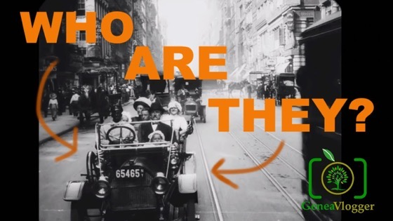 Home School: Identifying People in Old Film – 1911 A Trip Through New York City (VLOG #41) via GeneaVlogger on YouTube [Video]
