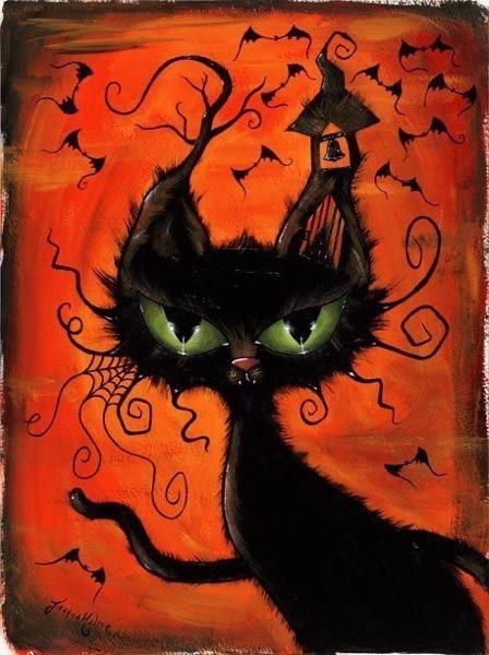 Halloween 2020 – 9 in a series – Halloween Cat