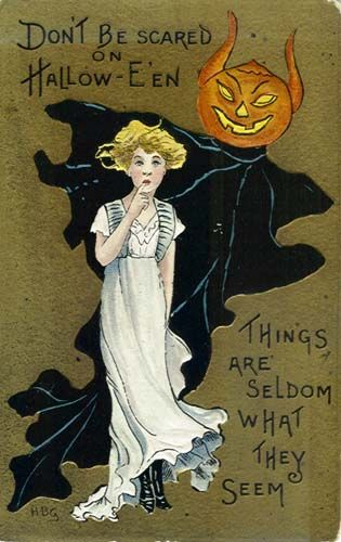 Halloween 2020 – 17 in a series – Don't be scared on Halloween…