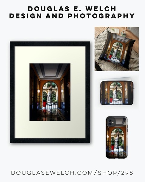 New Product Design: Milano Doorway Prints, Pillows, and More from Douglas E. Welch Design and Photography [For Sale]