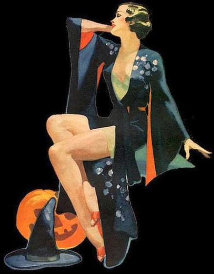 Halloween 2020 – 24 in a series – 1930's Witch