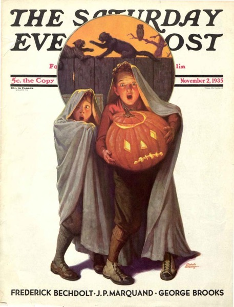 Halloween 2020 – 7 in a series – The Saturday Evening Post( 1935)
