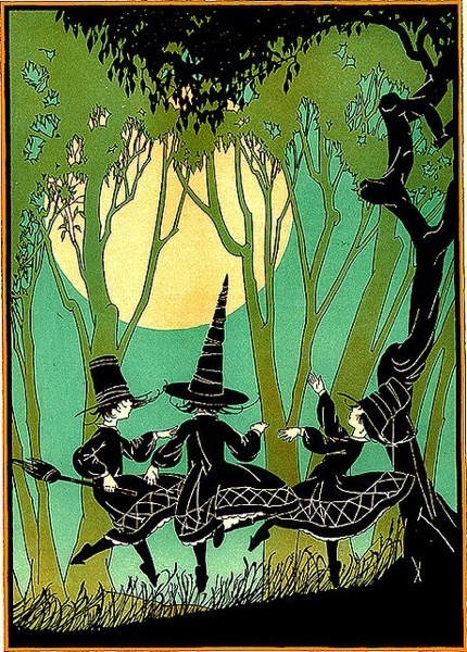 Halloween 2020 – 22 in a series – Dancing Witches
