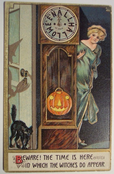 Halloween 2020 – 30 in a series – Vintage Halloween Postcard