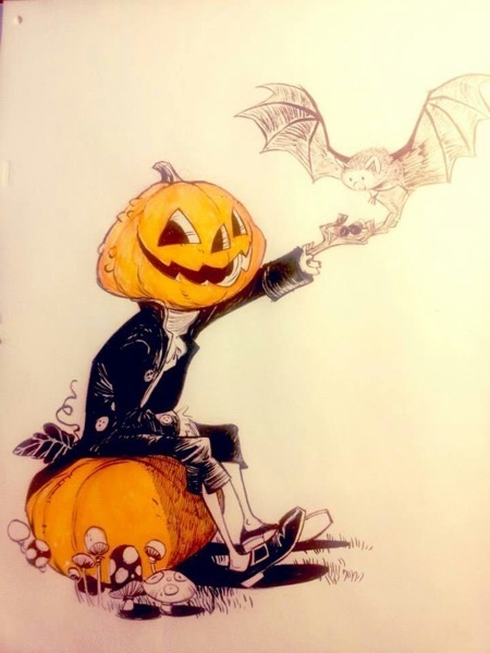 Halloween 2020 – 39 in a series – Pumpkin Man